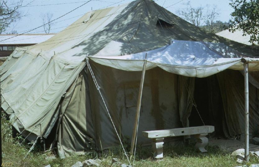 A/227 G.P. Medium Tent & An Khe AO 2 A/227 G.P. Medium Tent